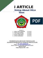 HiLo Teen Present.doc