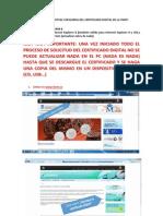 Instrucción Para Solicitud Firma Fnmt