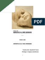 Abe Kobo - Identico Al Ser Humano.pdf