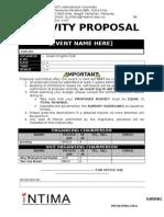 19th INTIMA Activity Proposal