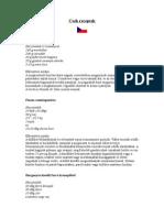 Cseh Receptek (3 Oldal)