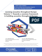Building acoustics throughout Europe Volume 1