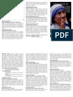 Via Crucis con la Madre Teresa de Calculta