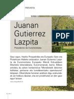 Elarrizketa Juanan Gutierrez Lazpita Entrevista