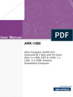 ARK-1380 User Manual