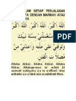 Doa Dalam Perjalanan Dari Shafa Dengan Marwah Atau Sebaliknya