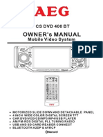 AEG CS DVD 400 BT