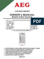 AEG CS DVD 400 BT