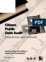 Citizen Public Debt Audit - Experiences and methods