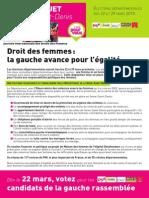 Tract Droit Des Femmes