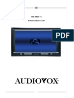 AUDIOVOX VME-9120TS