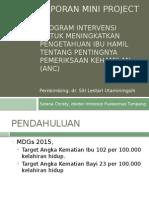 Laporan Mini Project Antenatal Care