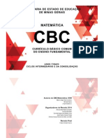 Cbc - Anos Finais - Matemática