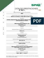DoP Zertifikat ES 2014 9