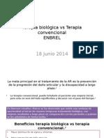 Terapia Biológica vs Terapia Convencional 18jun14