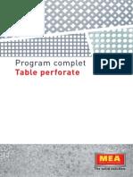 Catalog Tabla Perforata