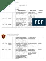 Programa Semestral - Historia