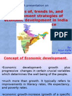 Economic Development in India Since Indepencence