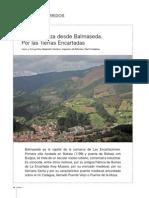 Monte Kolitza desde Balmaseda:Por las tierras encartadas