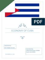 Cuba Project Report