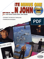 Elton John - Ultimate Minus One Piano Trax (Songbook)