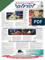 Salem Community Patriot 3-6-2015
