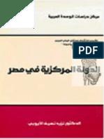 نزيه الأيوبي - الدولة المركزية في مصر