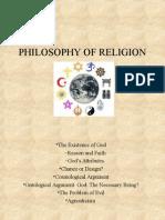 Philosophy of Religion Wand e