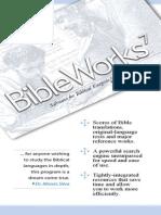 Bible Works 7 Manual
