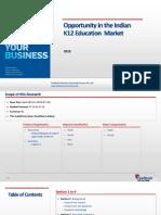 Opportunity in the Indian K12 Education Market_Feedback OTS_2015