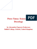 Petre Țuțea- Science as Doxology