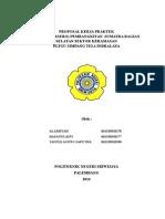 Proposal Kerja Praktek Pltgu Alam
