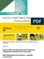 4.Horizon 2020_Marie Skłodowska-Curie Actions-Jean-Michel Ludwig