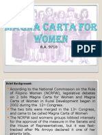 Magna Carta for Women Ppt - Copy - Copy