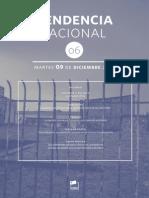 Tendencia Nacional N° 6 Fundación CREA