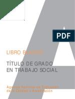 Libro Blanco Titulacion de Grado en Trabajo Social