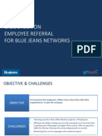 Case Study on Employee Referral- Blue Jeans by Giftxoxo