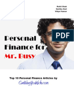 Personal Finance for Mr. Busy v1