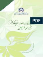 Mujeres Progreso 2015
