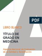 Libro Blanco Titulacion de Grado en Medicina