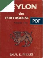 Ceylon the Portuguese Era Vol-2