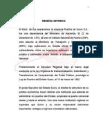 reseña historica puertos de sucre c.a.