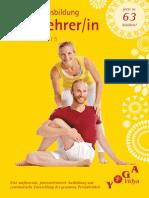 2jahres Yogalehrer Ausbildung 2015