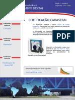 Informativo Digital Certificacao Cadastral