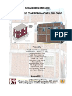 Seismic Design Guide for Low-Rise Confined Masonry Buildings