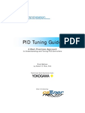 Yokogawa PID Tuning Guide - CsTuner | Systems Science | Cognitive