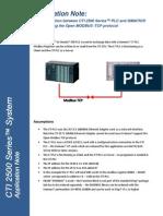 Communication to Simatic S7 Using Open Modbus (1)