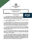 2014 Bar Examinations Questionnaires - Political Law