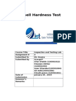 Brinell Test