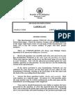 2014 Bar Examinations Questionnaires - Labor Law